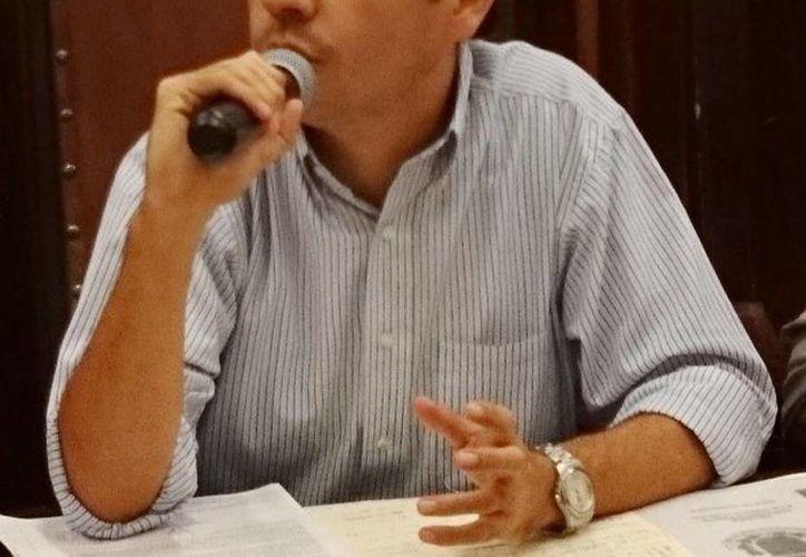 El regidor Rubén Segura Pérez acusó al alcalde de Mérida de falta de transparencia. (Cortesía)