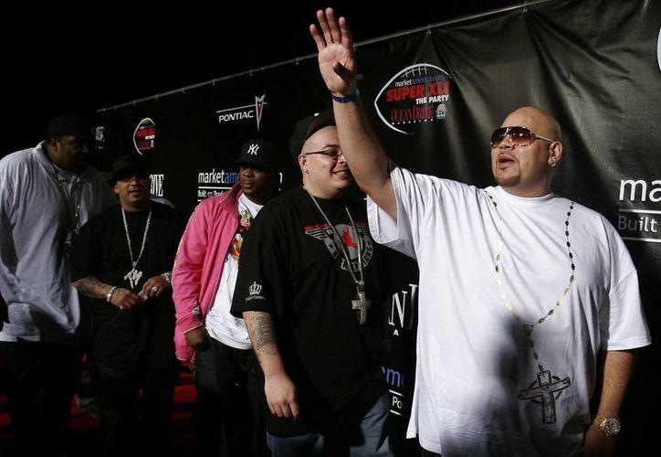 En la imagen, el rapero Jose Antonio Cartagena,(d), conocido como Fat Joe. (EFE/Archivo)