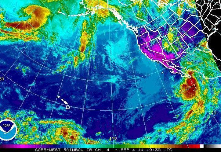 Ya hay una alerta naranja para Los Cabos y una amarilla para La Paz debido a la cercanía del huracán Norbert. (ssd.noaa.gov)