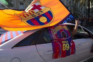 Barcelona celebra a sus héroes