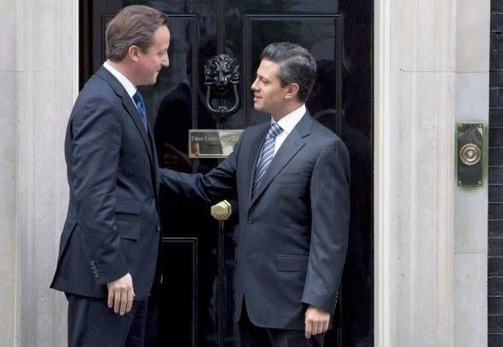 Peña Nieto se reunirá por segunda vez en menos de un año con el primer ministro inglés David Cameron. (ibtimes.com/Archivo)