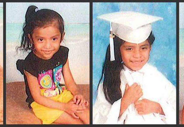 Kimberly, Jackelyn, Evelin y Mendi, todas nacidas en EU, están desaparecidas desde el pasado 12 de septiembre. (AP)