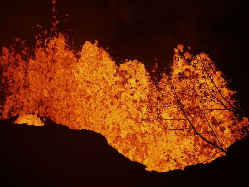 There has been continuous low-level ash emission from Kilauea's summit... (AP)