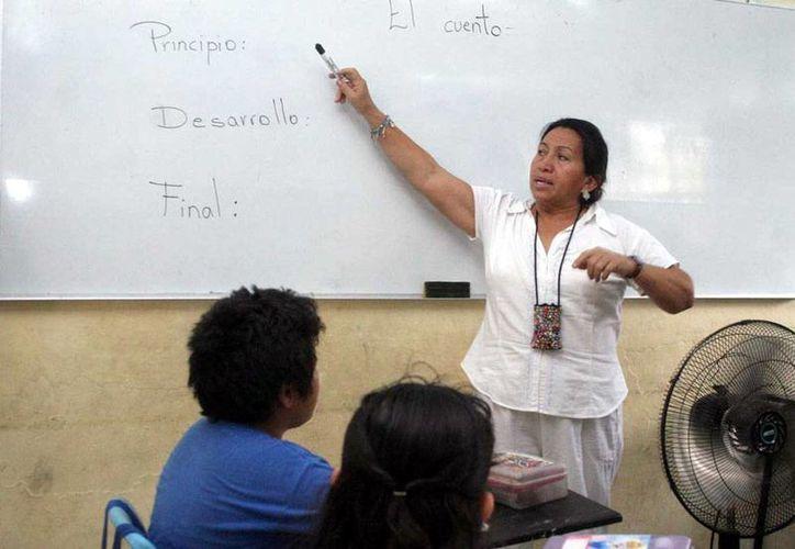 Yucatán es uno de los estados que no ha querido informar sobre el monto del pago de salarios a profesores 'comisionados, es decir, que fugen como mentores pero no dan clases. La imagen es de contexto y únicamente ilustrativa. (Milenio Novedades/Archivo)