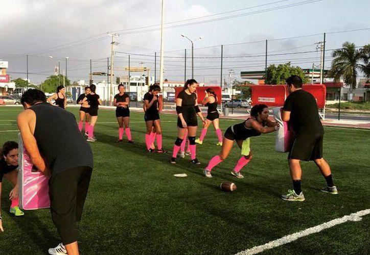 Las Pioneras quieren entrar con todo a esta liga y ser el mejor representante de la Zona Su. (Ángel Mazariego/SIPSE)