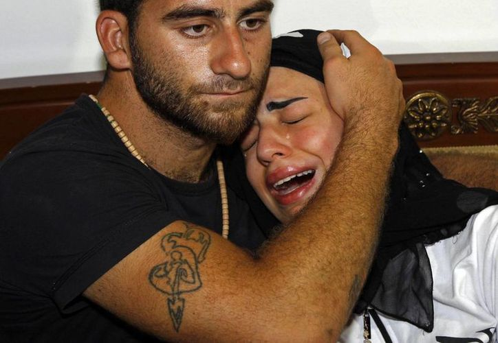 Fatima, hija de Jammo, estaba con él al momento del ataque, pero no resultó siquiera lesionada. (Agencias)