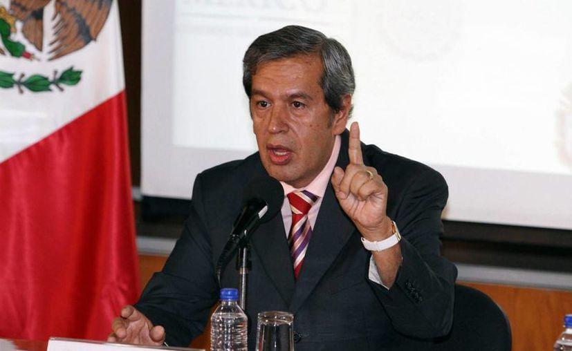 El gobernador interino de Guerrero, Rogelio Ortega, asegura que el estado ya salió de una crisis mayor, pero ahora enfrenta aprietos en las finanzas. (Archivo/Notimex)
