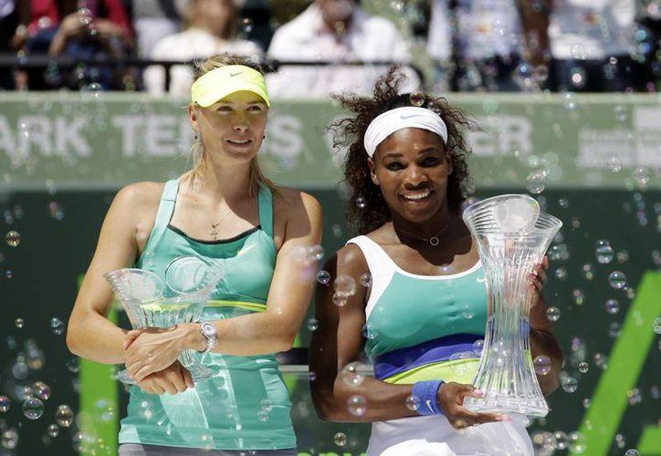 Serena alargó la racha de 5 finales perdidas de Sharapova. (Foto: Agencias)