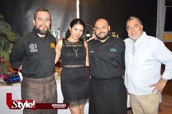 Outback Steakhouse Cancún, ofreció una cena maridaje