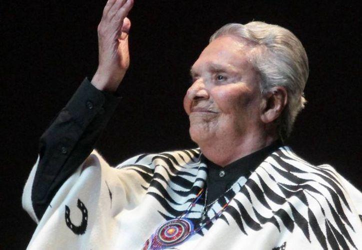 La cantante mexicana Chavela Vargas, fallecida en agosto pasado a los 93 años de edad. (Archivo Notimex)