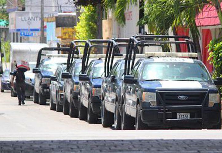 """La Policía federal está realizando el operativo """"Titán"""" para salvaguardar la seguridad de la ciudad. (Foto: SIPSE)"""