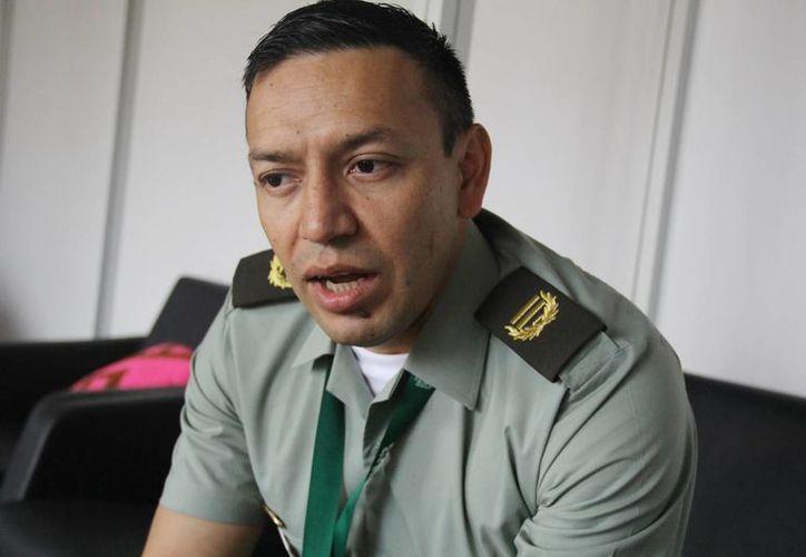 El teniente coronel de la Policía Nacional de Colombia, Herber Benavides, de la Unidad de Lavado de Activos, sostuvo que Colombia ya prendió las alarmas sobre la importancia de golpear las finanzas del narco, sobre todo a nivel internacional. (Notimex)
