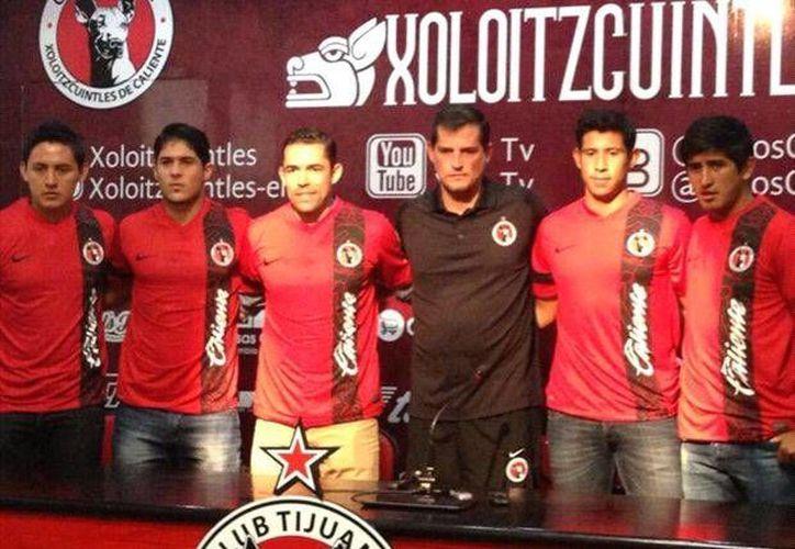 Los nuevos integrantes de Xolos de Tijuana. (goal.com)