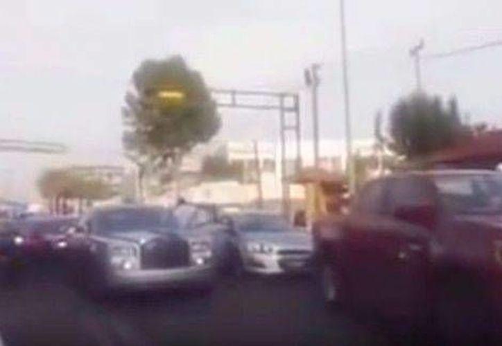 """Emir Garduño Montalvo, mejor conocido como """"Lord Rolls Royce"""" fue internado en el penal estatal de Santiaguito. (Milenio)"""