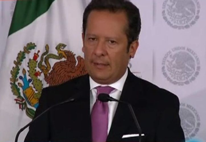 Eduardo Sánchez Hernández, vocero del Gabinete de Seguridad del Gobierno Federal. (Foto: Segob)