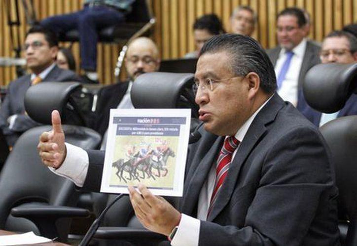 Horacio Duarte, representante de Morena ante el INE (Cuartoscuro)