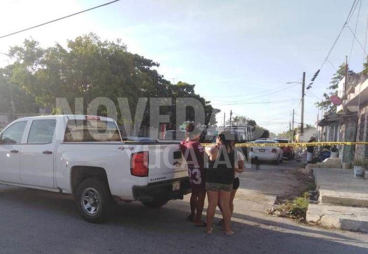 Vecinos de esta colonia del sur de Progreso señalan que hay varios puntos de venta de droga en los alrededores. (Novedades Yucatán)