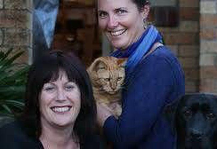Kim Edwards, la dueña de Rory, accedió a que se utilizara sangre del perro de su vecina. (nzherald.co.nz)