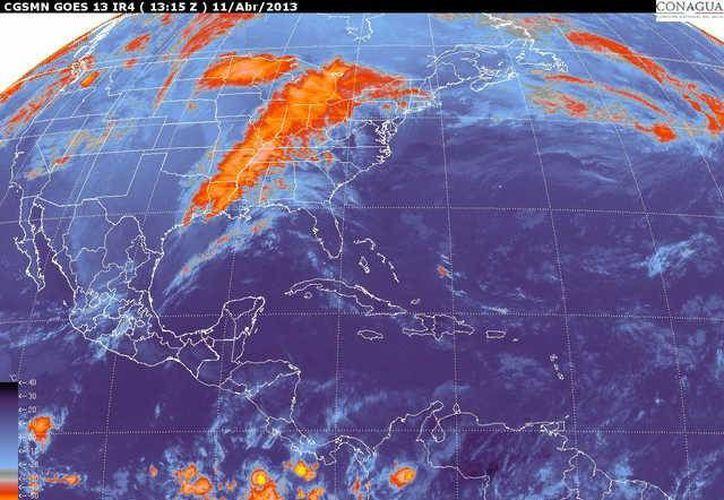 Soplarán vientos de componente oriental de 20 a 40 km/h. (smn.cna.gob.mx)