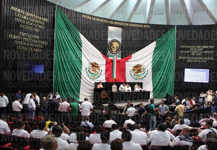 La propuesta fue firmada por los coordinadores de todas las fracciones parlamentarias. (Joel Zamora/SIPSE)