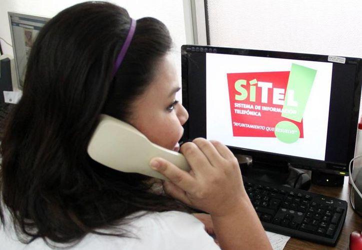 El programa de Sistema de Información Telefónico dejó de funcionar desde agosto. (Redacción/SIPSE)