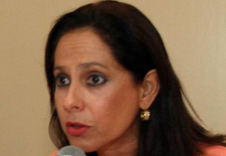 Gabriela González Prieto, directora del DIF Mérida. (Milenio Novedades)