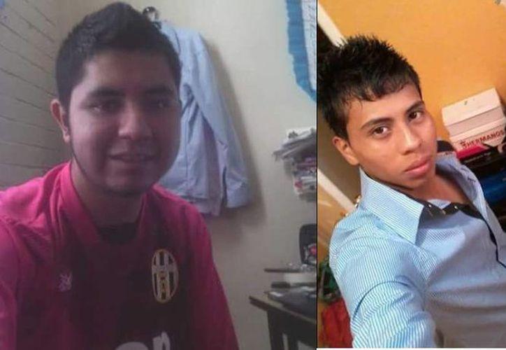 Los normalistas fueron identificados como Filemón Tacuba Castro y Jonathan Morales Hernández. (twitter.com/Omarel44)