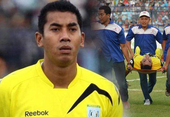 El fallecimiento de Chuda tuvo lugar una hora después del incidente, en el hospital Soegiri Lamongan. (Tribun Jabar)