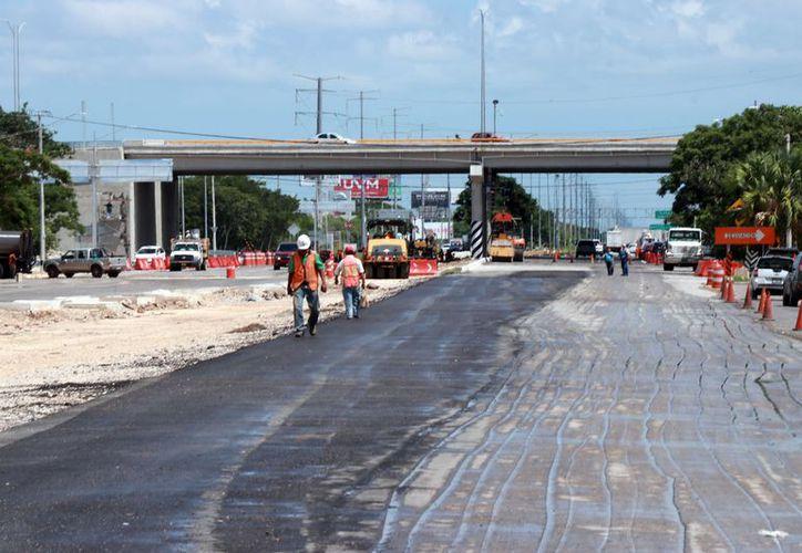 La modernización de la calle 60 norte hará más ágil la vialidad. (Foto: Jorge Acosta/ Milenio Novedades)