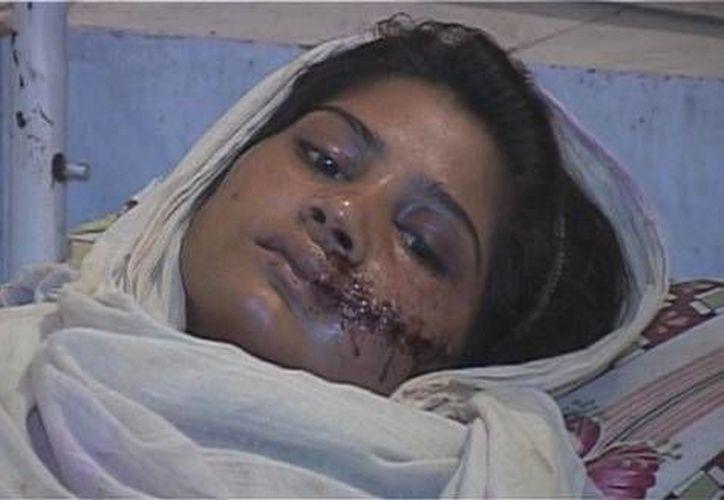 Saba Maqsood estaba enamorada de un hombre de una ciudad vecina y se casó con él la semana pasada. (itv.com)