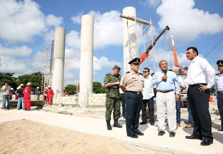 """La construcción del parque-museo """"El ejército"""" es parte de las actividades conmemorativas al centenario del Ejército Mexicano. (Cortesía)"""