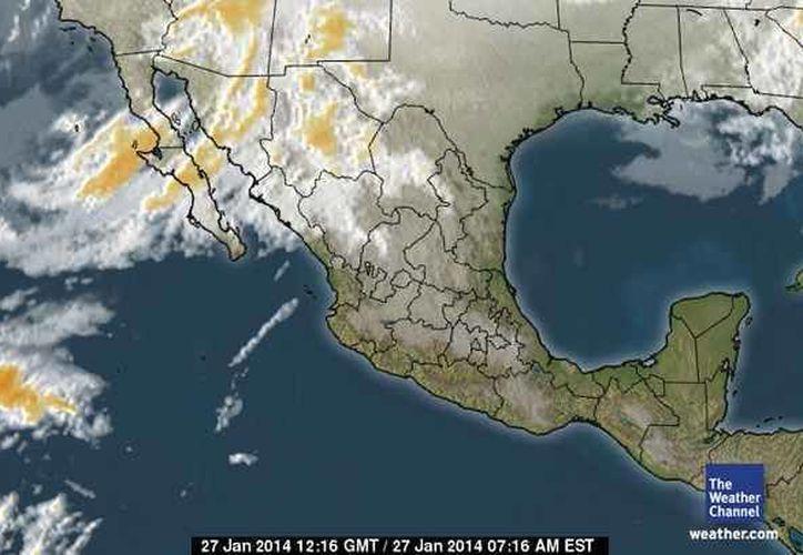 La temperatura máxima será de 29 grados centígrados y la mínima de 16. (Foto/espanol.weather.com)