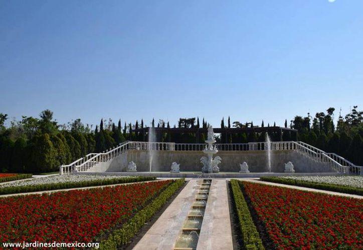 El jardín Italiano es uno de los atractivos del parque 'Jardines de México'. (Facebook/Jardines de México)
