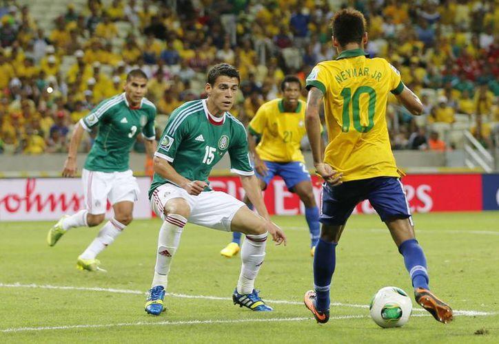 Brasil e Italia fueron un trago amargo para el Tri en la Copa Confederaciones. (Agencias)