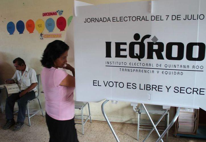 El presente proceso electoral presentó un abstencionismo menor al del 2010. (Harold Alcocer/SIPSE)