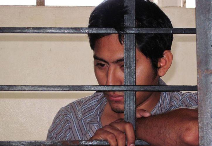 Marco Antonio Salazar Hernández, acusado de apoderarse 18 mil pesos de un Dunosusa. (Francisco Puerto/SIPSE)