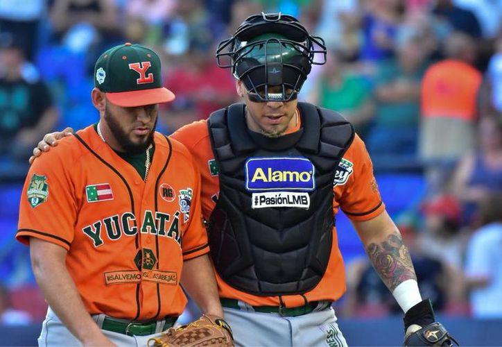 Yoanner Negrín salió descontrolado y eso, a la postre, le costó la derrota. (Leones de Yucatán)