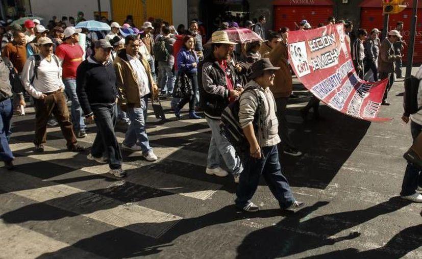 Las movilizaciones se registraron en Tuxtla Gutiérrez y San Cristóbal de las Casas. (Notimex/Foto de contexto)
