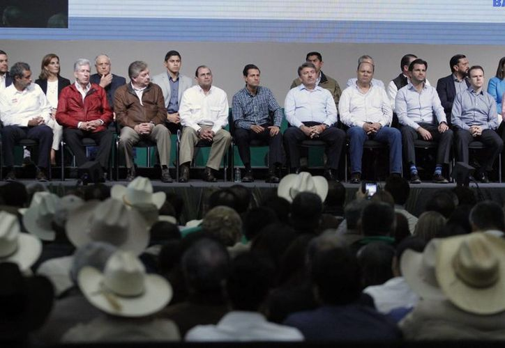 Peña Nieto encabezó en Rosarito, Baja California, la LXXX Asamblea General Ordinaria de la Confederación Nacional de Organizaciones Ganaderas. (Presidencia)
