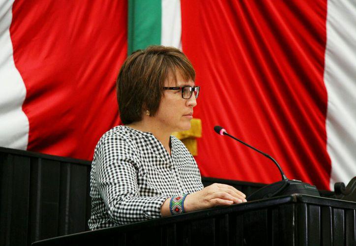 El exhorto de la Diputada Beristain contó con el apoyo y aprobación unánime de los legisladores presentes. (Cortesía)