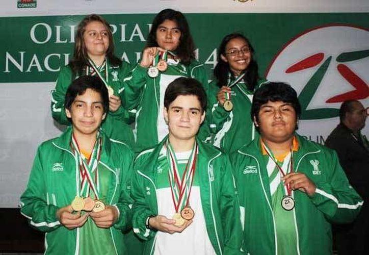 De las tres medallas de oro de la Selección Yucateca de ajedrez, Jerónimo Real Pereyra ganó dos en las modalidades mixta y varonil. (Milenio Novedades)