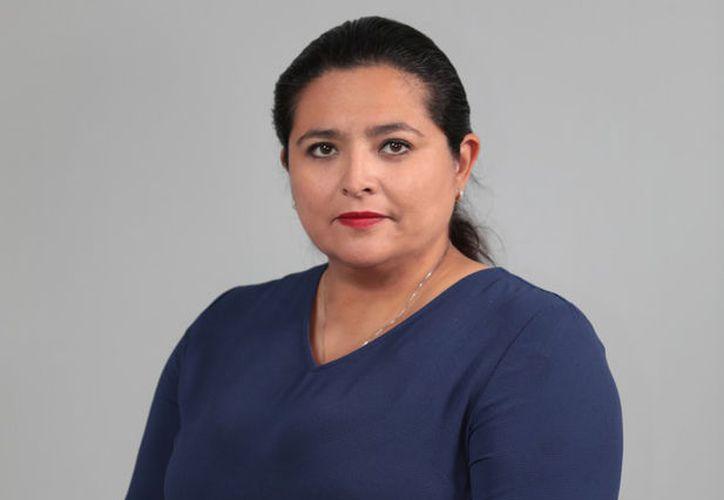 La contralora estatal Lizbeth Basto Avilés. (Archivo)