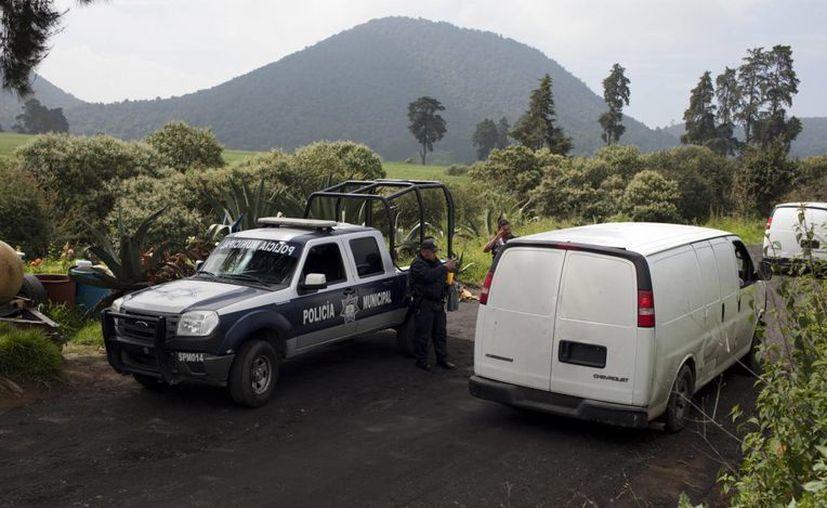Los hombres fueron detenidos durante la inspección del rancho en Tlalmanalco. (Archivo/Notimex)