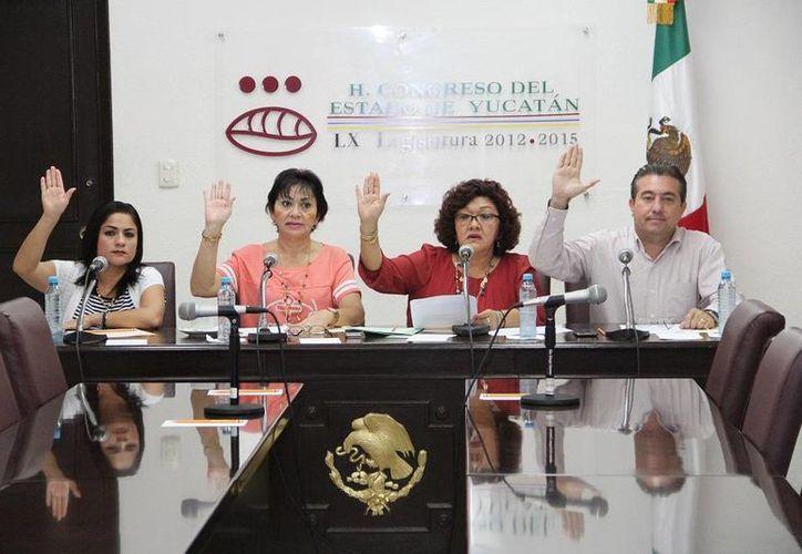 Diputados integrantes de la Comisión de Educación, Ciencia, Tecnología, Arte, Cultura y Deporte del Congreso. (SIPSE)