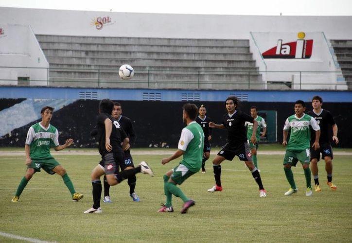 Los goles del conjunto yucateco fueron de los delanteros Jair García y Fausto Ruiz. (SIPSE)