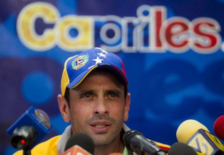 Henrique Capriles fue acusado, de manera indirecta, de orquestar un 'golpe de Estado' contra el presidente Maduro. (EFE)