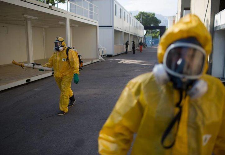 Brigadas de Salud de Brasil combaten el mosco que transmite el virus del Zika, enfermedad que ha causado graves daños a salud en recién nacidos. (AP)