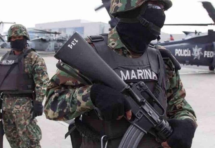 Los elementos de la Marina no sabían de las acciones del convoy. (Contexto/Internet)
