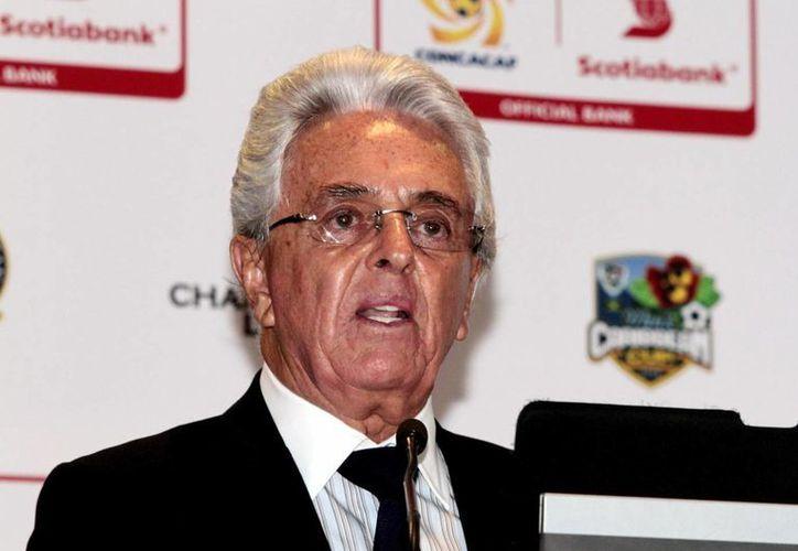 Justino Compeán, sin contar con oposición, fue reelecto como vicepresidente de Concacaf. También es titular de la Femexfut. (Notimex/Foto de archivo)
