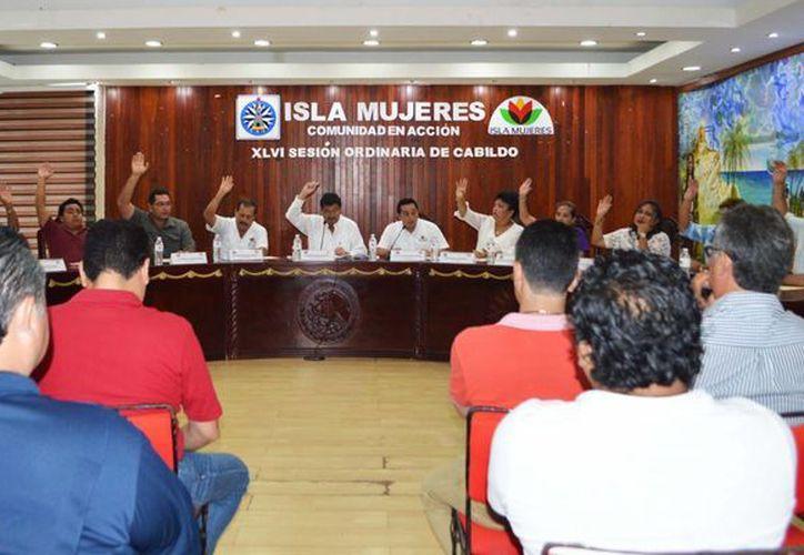 Realizaron la Cuadragésima Sexta Sesión Ordinaria de Cabildo. (Cortesía/SIPSE)